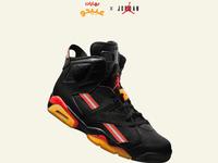 Air Jordan VI x Abido Spices