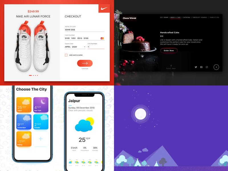 2018 YEAR IN REVIEW 2019 2018 pantone pantone2018 colors illustration vector ui flat icon creative sketch app design