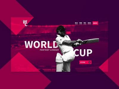 Cricket World Cup Fantasy League 2019