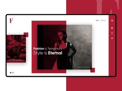 Fashionize Website Design