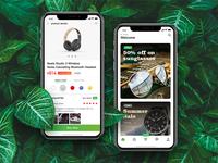 Fresh Green Shopping App