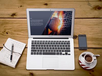 Landing page - Ferrox ux ui design