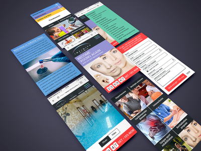 Infinity clinic - Mobile ux ui design
