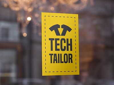 Logo Tech Tailor identity branding logo design