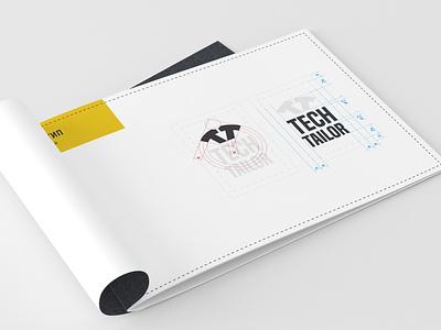 Brandbook Tech Tailor brandbook identity branding design