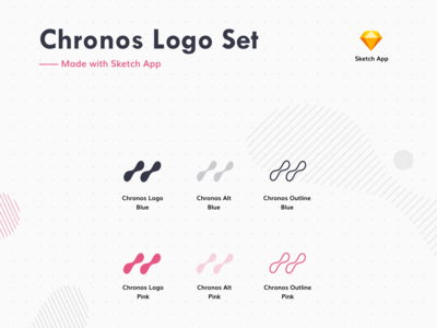 Chronos Logo Set