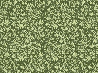 Cannabis Pattern marijuana weed flower plant leaf cannabis identity branding illustration pattern