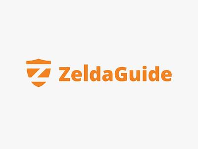 Zelda Guide - logo icon lettering vector illustration flat typography type logo design branding
