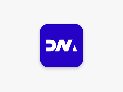 Icon minimal mobile ios icon lettering identity typography type logo illustration flat clean vector design branding