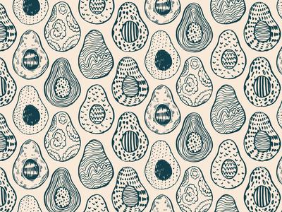 Avocado pattern