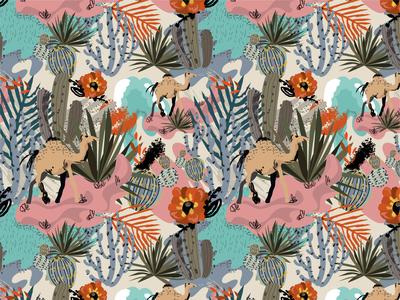 Oasis pattern