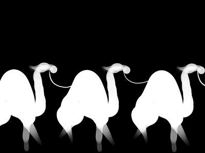 Camels pattern alpha camels camel procreate art design illustration