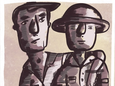 The Two Of Us procreate art design illustration