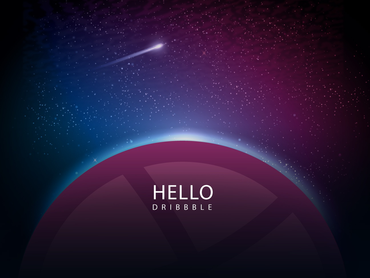 Hello Dribbble hello dribble dribbble hello