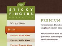 Sticky Fingers Website