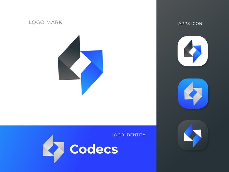 Software logo design concept - coding logo mark code logo trends 2020 dribbble app icon icon design apps company logo digital coding logo software logo logotype modern logo logo designer corporate app logo design logo design vector typography design logo