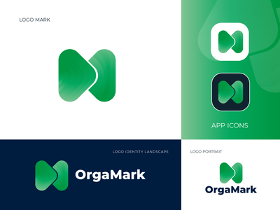 M Modern Abstract Logo Mark  - M Modern Logo dribbble best logo typography m vector website animation flat minimal logo branding design logo branding logo trends 2020 abstract modern logo logotype brand identity branding logo designer logo design design logo