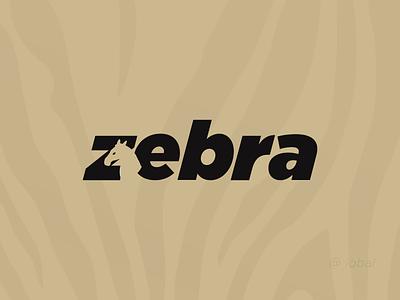 Zebra - Negative Space Logo Design - Creative Logo Design vector natural logo app geomatric logo geometic concept flat creative corporate modern logo branding typography design illustration logo logo design nature negative space logo negative space zebra