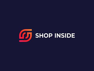 Shop Logo Design - S Letter Logo - S Shop Logo Mark app sketch concept symbol branding logo typography logo designer brand identity modern logo logo design s logo mark shop logo mark s monogram s letter logo s letter shop logo s shop logo s logo