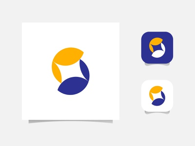 S Abstract Flat Logo Design - S Logo Mark vector corporate logotype web s mark animation identity branding logo mark logo designer design logo s monogram flat icon app s letter logo s abstract logo s letter s logo