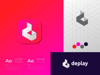 D + Play Logo Mark - D Logo - Play Logo Mark creative logotype app logo design logo design freelancer iqbal logodesign gradient logo vector illustrator brand design logo branding minimal logo abstract logo modern logo play logo d letter logo d logo d