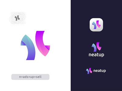 N Modern Letter Logo Design - N Logo Mark - Unused flat lettermark icon app typography vector brand identity logo designer logo design app logo design creative abstract modern logo branding design logo n letter logo n symbol n logo n