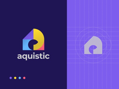 A Modern Flat Logo Design For Sale brand and identity animation flat icon app a modern logo a logo a abstract creative typography vector app logo design design branding brand identity logo logo designer logo design modern logo