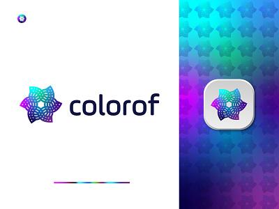 Colorful Business Logo Design Concept company logo business logo illustration design vector minimal logo modern logo brand identity branding logo designer logo design logo creative gradient abstract minimal modern colorful
