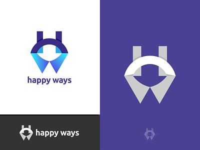 H + W Modern Letter Logo Mark vector design brand identity app icon app geometric app logo abstract logo modern logo creative logo freelancer iqbal best logo designer logo designer branding logo lettermark hw logo w logo w h
