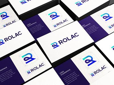 Rolac Brandbook Design | Branding Design graphic design typography vector illustration design branding logo logo designer logo design modern logo brand identity animation gradient