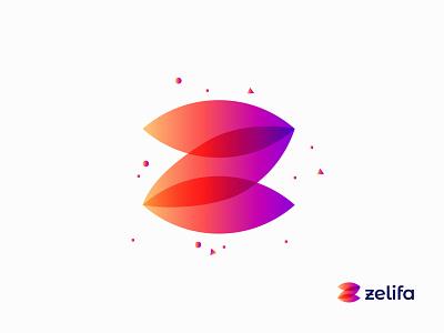 Z Modern Letter Logo Mark logo mark z letter z logo z vector modern logo graphic design gradient