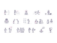 Set of vector icons #1