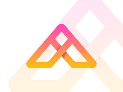 A logo design modern graphic design apps app icon design icon abstract design brand design brand identity logo design creative logo k letter k logo a letter a logo