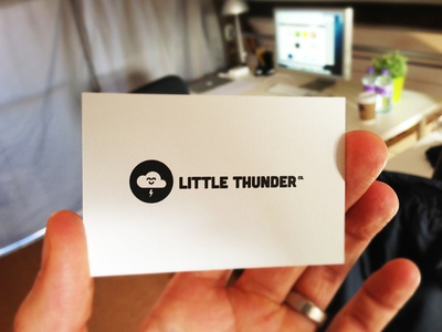 Little Thunder Business Cards