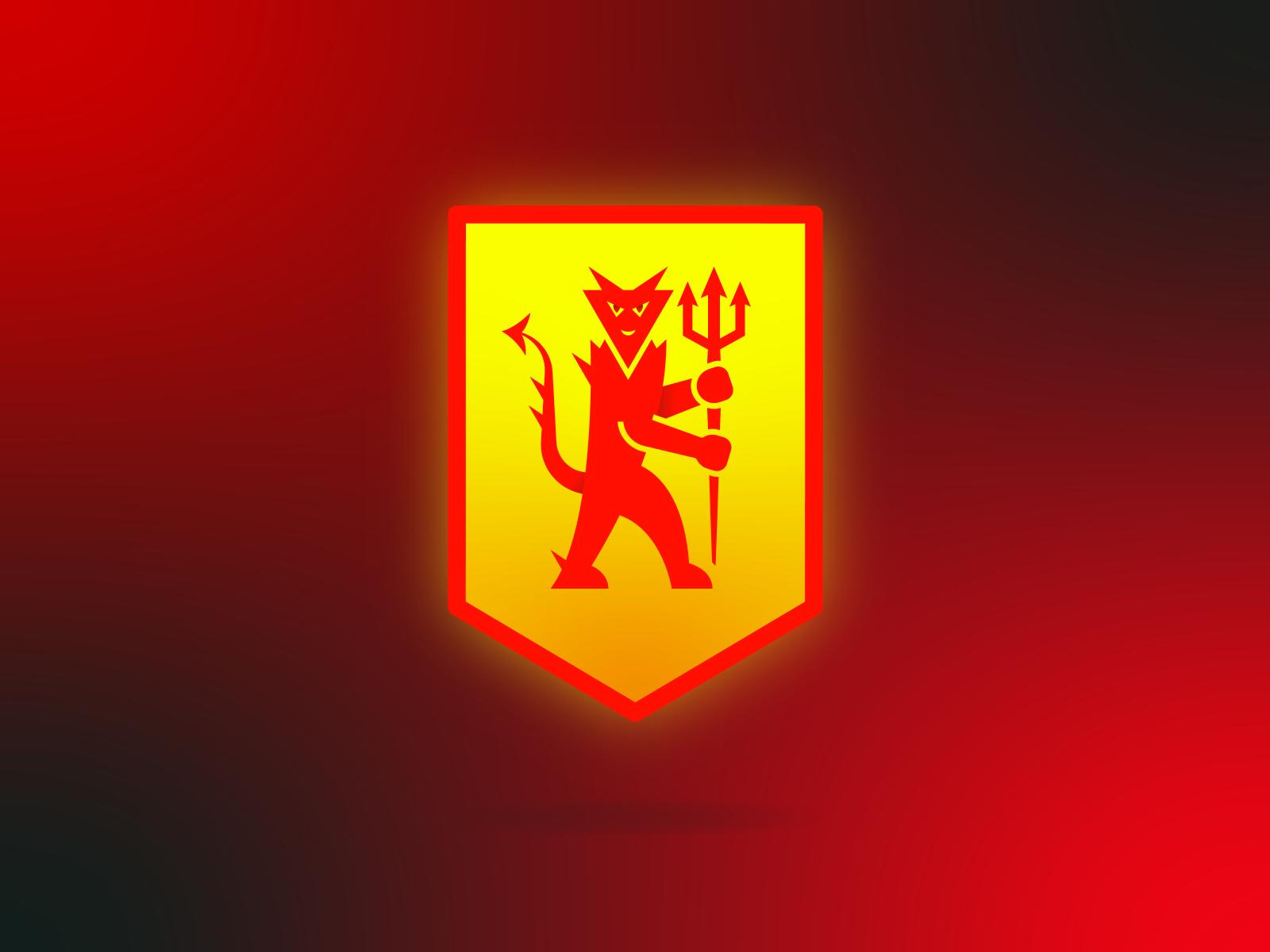Man Utd Icon By Gabriel Muldoon On Dribbble