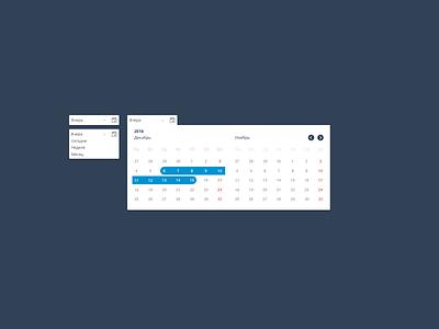 Dropdown elements menu dropdown interface ui uidesign