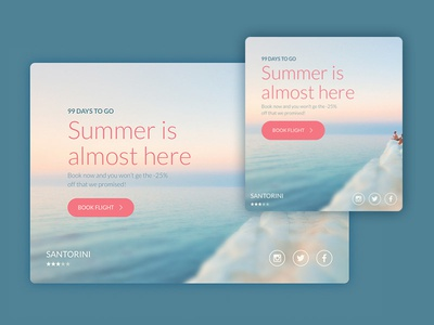 One Page Travel Website free booking travel page adaptive sass css html
