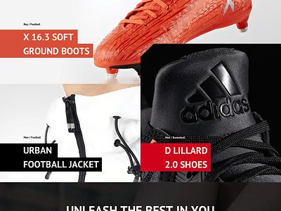 Adidas Main Page site page adidas