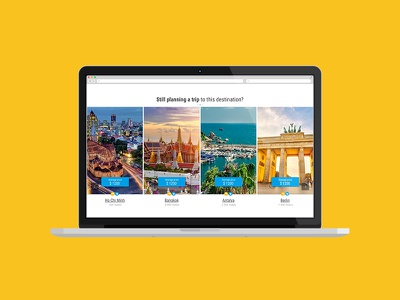 Idea for Booking main page site travel sketch page booking