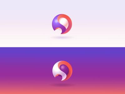 """S"" Logo design"