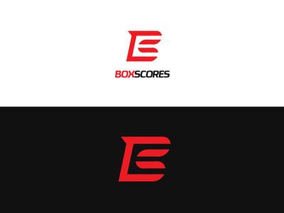 BoxScores logo design