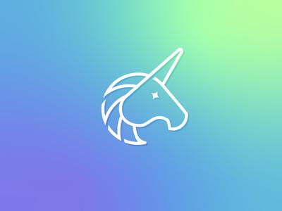 Unicorn pictogram