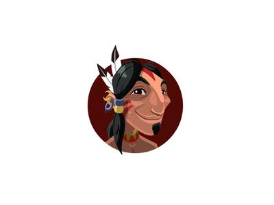 Indian Icon illustration