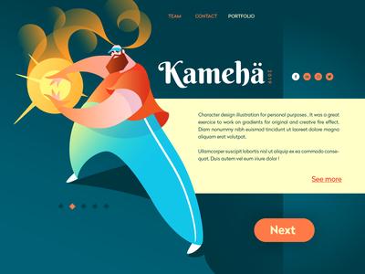 kameha - Illustration