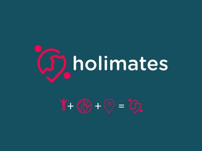 Holimates Logo I Branding