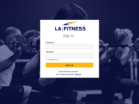 Daily UI 001 - Login Page