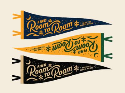 Room to Roam Pennant