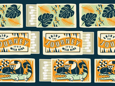 Wild Ride Matchbox Covers