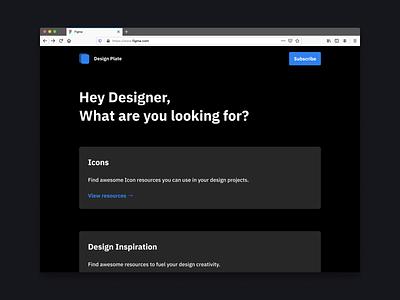 Design Plate design tools design resources curation curated list design app resources ui design ui uiux design
