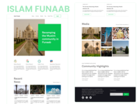 Islam In Funaab UI Design